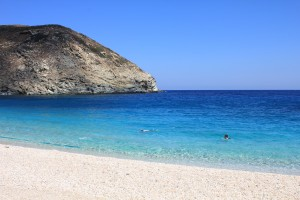 Snorkeling in Andros Greece